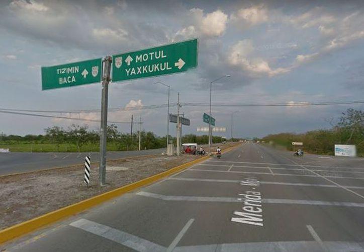 A finales de febrero inicia la construcción del Distribuidor Vial Baca en esta zona, la cual es sumamente conflictiva para los automovilistas. (Google)