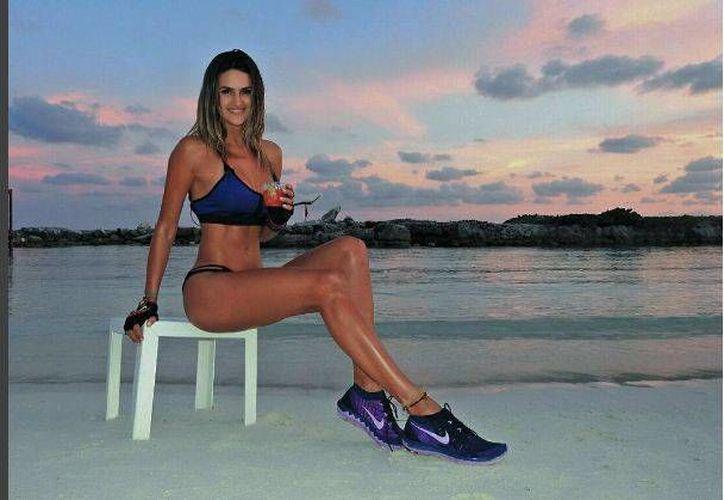 La modelo fue invitada por una agencia de viajes. (Foto: Instagram)