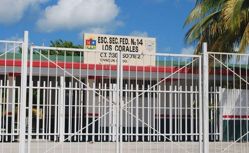 Por el contrario integrantes del Comité de Lucha Municipal, expresaron que el porcentaje que anuncian las autoridades educativas es mucho menor. (Tomás Álvarez/SIPSE)
