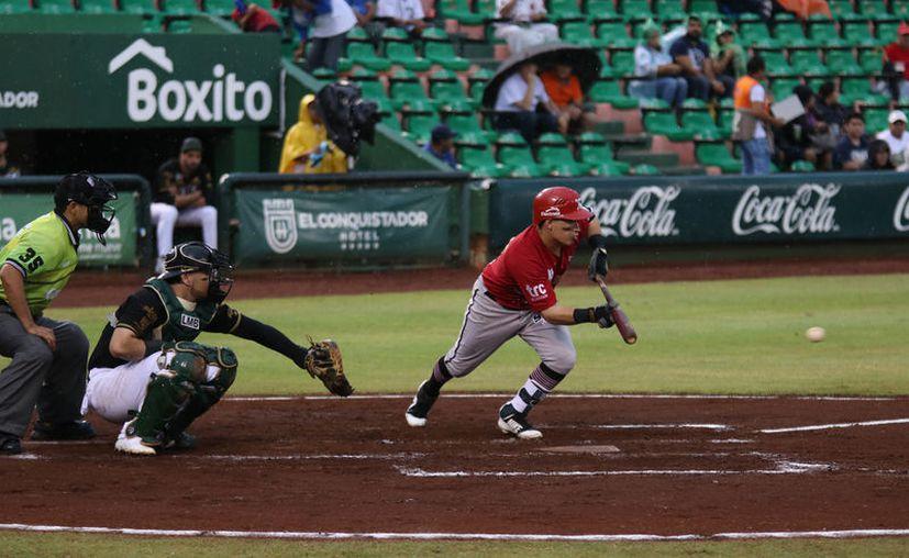 Campeche fue paciente para esperar el momento y hacerle daño al relevo de las fieras para ganar el juego. (Daniel Sandoval/Novedades Yucatán)