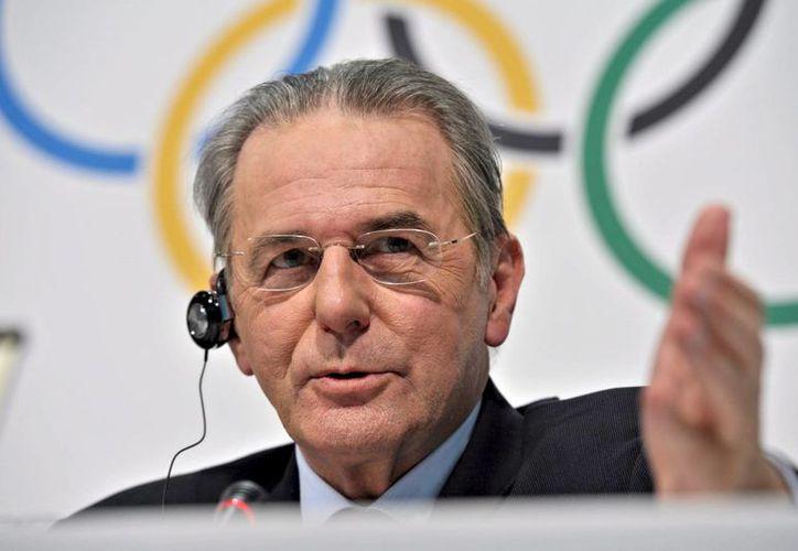 Jaques Rogge, presidente del Comité Olímpico Internacional (COI), informó acerca de las peticiones recibidas. (Agencias)