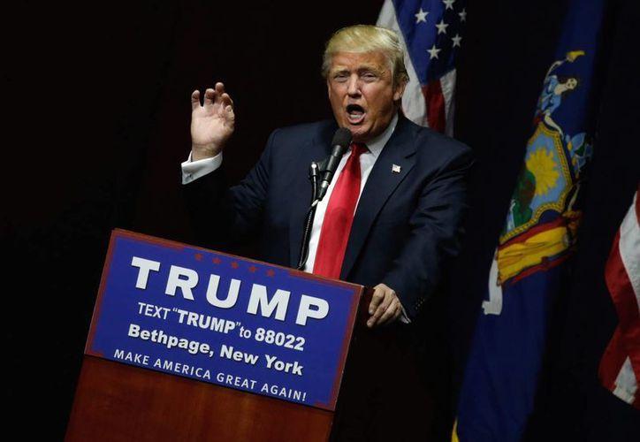 Donald Trump es favorito para la nominación presidencial republicana. (Archivo/EFE)