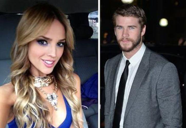 El amorío del novio de Miley Cyrus y Eiza González se dio en 2013. (RPP).
