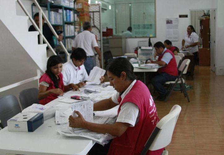 El INE evaluó a 450 personas interesadas en participar. (Ángel Castilla/SIPSE)