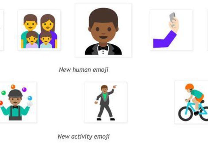 Los nuevos emojis hace referencia a las personas realizando diferentes actividades. (Foto tomada de Androidcentral.com)