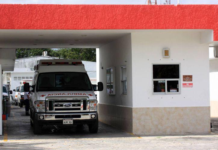 La remodelación de la fachada de la Cruz Roja será un proyecto para el 2015. (Luis Soto/SIPSE)