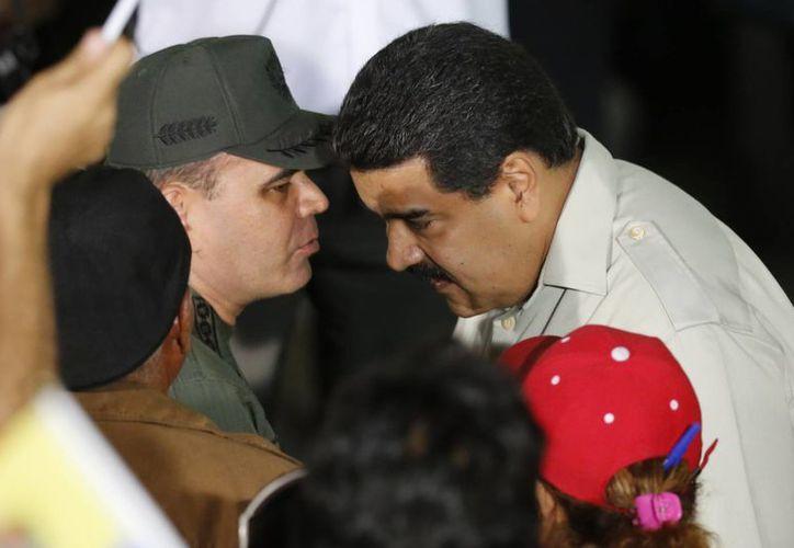 El presidente Maduro aseguró que habrá justicia por el presunto plan golpista que la oposición orquesta en su contra. (AP)