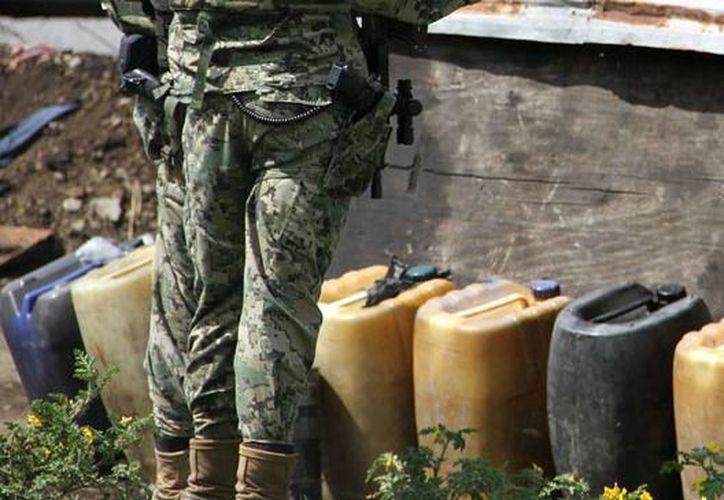 El pasado 22 de julio fuerzas armadas se enfrentaron a un grupo de huachicoleros en la comunidad de Telpatlán. (24 horas)