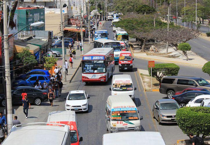 Se están focalizando vialidades en el sentido norte-sur y sur-norte en la zona norte de la ciudad. (Jesús Tijerina/ SIPSE)