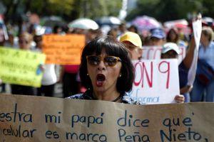 Maestros de la CNTE 'toman' la Ciudad de México