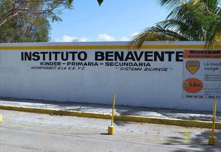 El Instituto Benavente aseguró que les respaldan 36 años de experiencia en la educación. (Facebook)