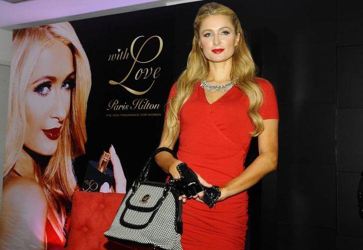 Paris Hilton expresó su fascinación por México. La socialité llegó al país para la presentación de su nueva fragancia. (Notimex)
