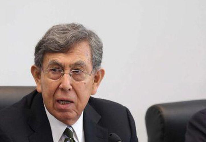 Cuauhtémoc Cárdenas Solórzano presidirá la propuesta del PRD en cuestión energética. (Notimex)