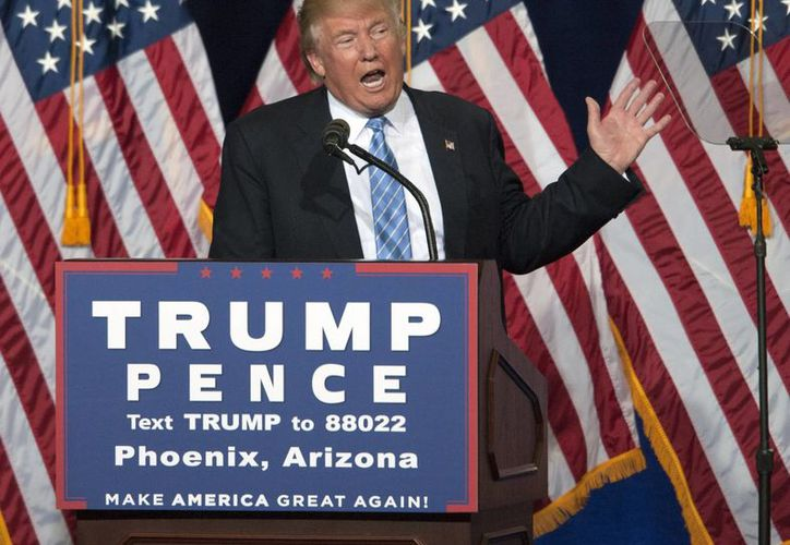 Donald Trump, candidato presidencial por el Partido Republicano de Estados Unidos, quiere evitar que Hillary Clinton 'amañe' las elecciones. (EFE/Archivo)