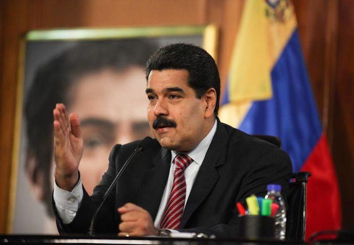 Nicolás Maduro asegura que Estados Unidos 'está amenazando a Venezuela'. (EFE)