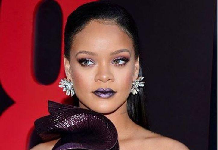 Hace una semana Rihanna fue a la premiere en Nueva York de 'Ocean's 8'. (Instagram)