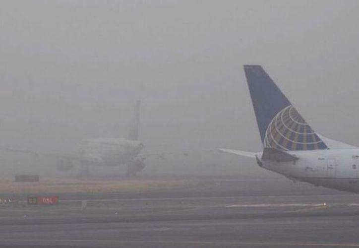 Una de las aerolíneas que resultó afectada fue Aeroméxico. (24 horas)