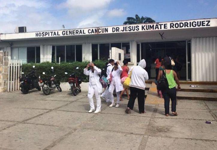 El hospital  atiende al sector femenino con frecuencia debido a problemas relacionados con el hígado. (Redacción/SIPSE)