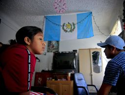 Parents wait by the phone hoping immigrant kids will call