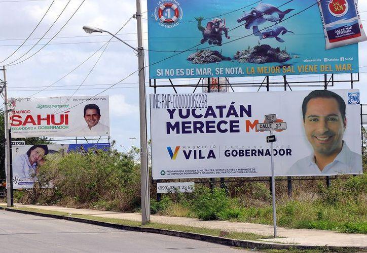 """Los partidos deben dejar """"limpio"""" al Estado de propaganda política. (Foto: Jorge Acosta)"""