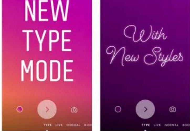 Instagram ha anunciado la integración del modo 'Escritura'. (Instagram)