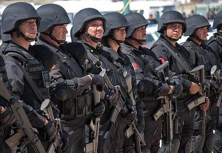 Agentes de Seguridad Pública de Tamaulipas. (conexiontotal.mx)