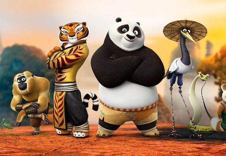 Imagen de contexto de la película 'Kung Fu Panda'; la tercera parte de la saga se estrenará en diciembre de 2015. (dreamworks.com)