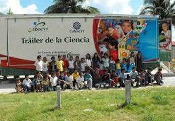 "El ""Tráiler de la Ciencia"" recorrerá 300 comunidades en seis municipios de Quintana Roo.  (Foto de contexto/Internet)"