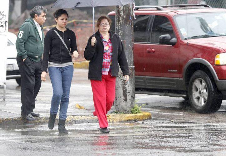 En la capital del país se esperan lluvias muy fuertes. En los últimos días varias zonas se han colapsado por las inundaciones. (Foto: Notimex)