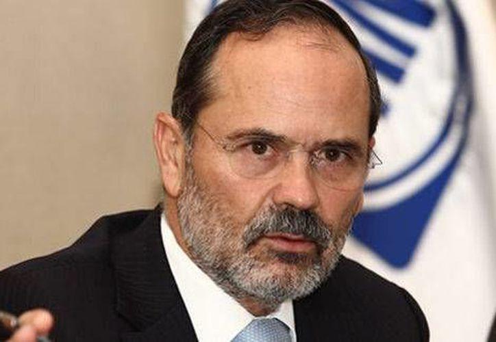 Gustavo Madero, líder nacional del PAN, denunció que algunos grupos de autodefensa son cobijados por gobiernos estatales. (Milenio.com)
