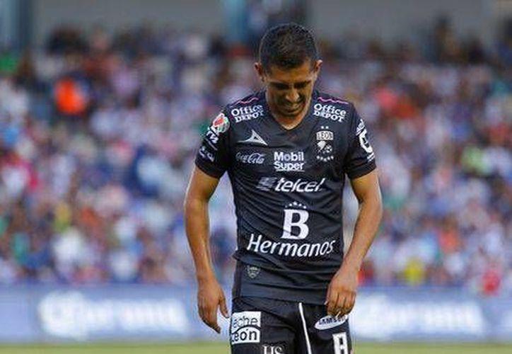 Elías Hernández se une a Ángel Sepúlveda, como las bajas de baja en la Selección para los amistosos de esta semana.(Foto tomada de Twitter/Club León)