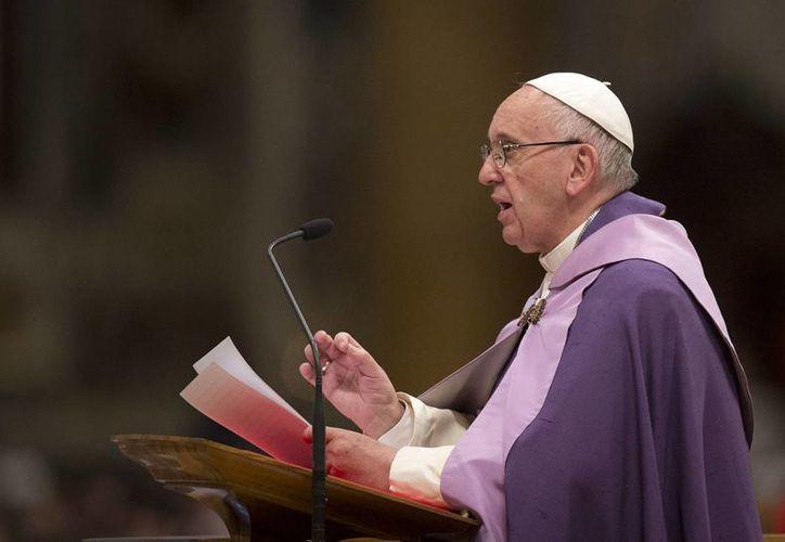 El papa Francisco envió un mensaje a los familiares de las víctimas del derrumbe de la catedral de Tuxtepec, Oaxaca. (AP/archivo)