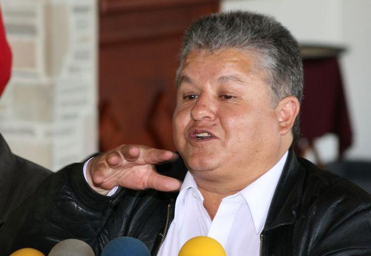 Artemio Ortiz, del Comité Democrático del SNTE. (cambiodemichoacan.com.mx)