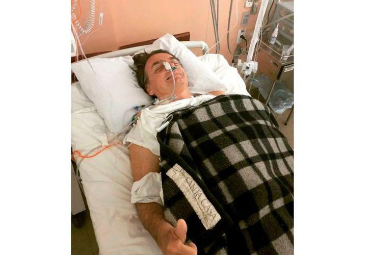 Jair Bolsonaro dijo que está recuperándose en el Hospital Albert Einstein de Sao Paulo. (vanguardia.com)