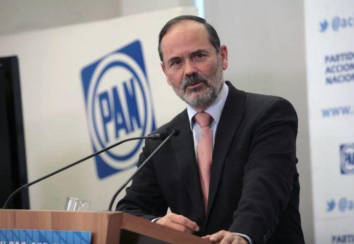 Gustavo Madero llamó a la unidad a todos los panistas. (Archivo)