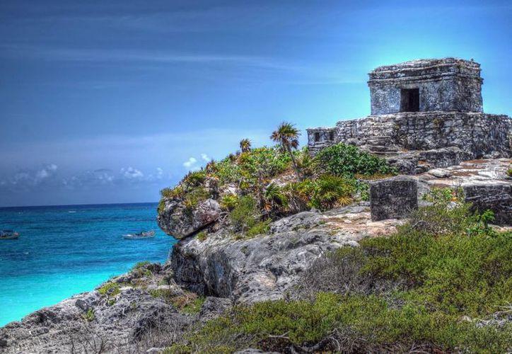Tulum es una ciudad Maya, con la particularidad de ser la única en encontrarse a las orillas del mar. (Contexto/Internet)