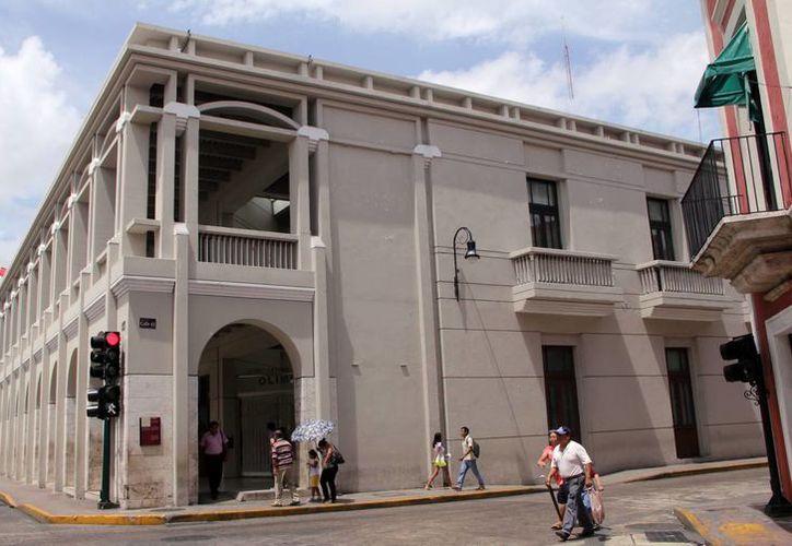 El Centro Cultural Olimpo, situado en el centro de Mérida, será sede del evento cultural 'Movilízate. Espacios Proyectados'. (SIPSE)