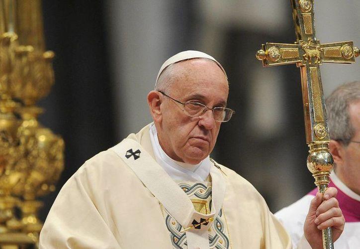 """El Papa advirtió que el camino de la Iglesia católica es """"decir las cosas, con libertad"""" y """"con franqueza"""". (EFE)"""