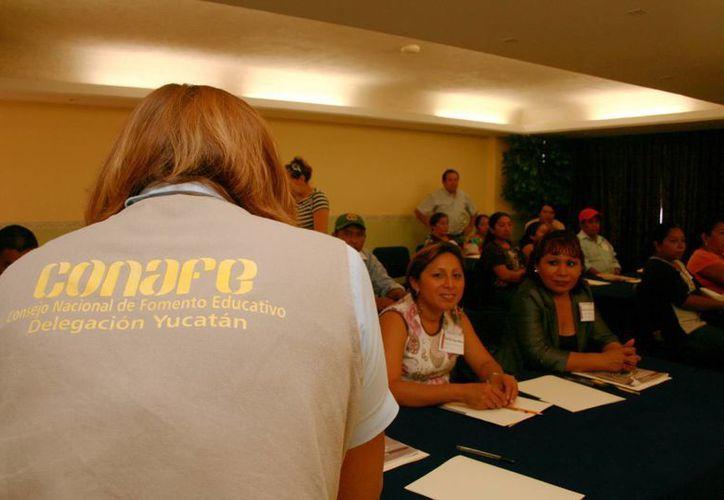 El Conafe busca líderes educativos en Yucatán entre los bachilleres. (Milenio Novedades)