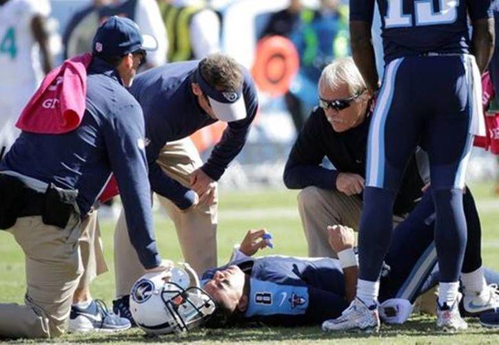 El daño cerebral siempre ha sido uno de los mayores cuestionamientos a la NFL. (Archivo AP)
