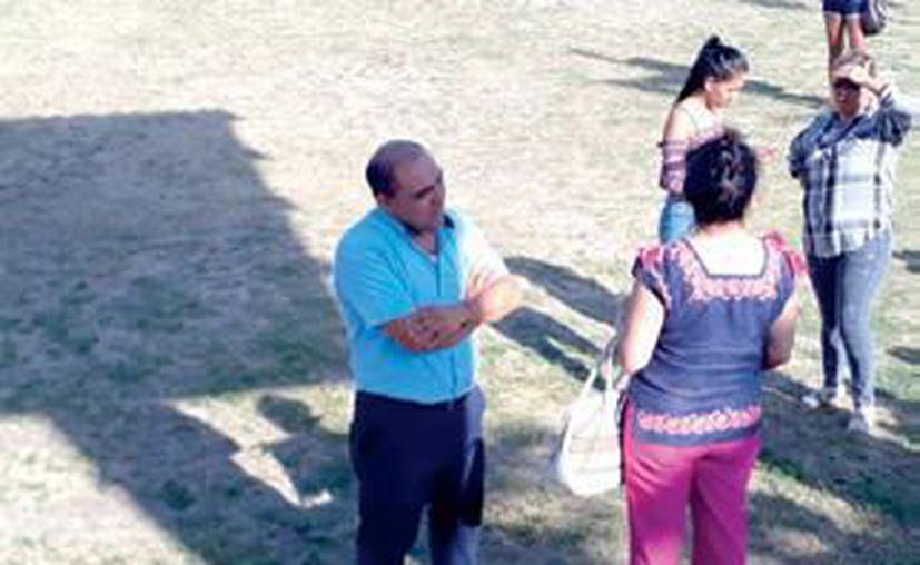 Niños de la escuela de fútbol Tigres Playa del Carmen fueron defraudados por su entrenador.  (Adrián Barreto/SIPSE)