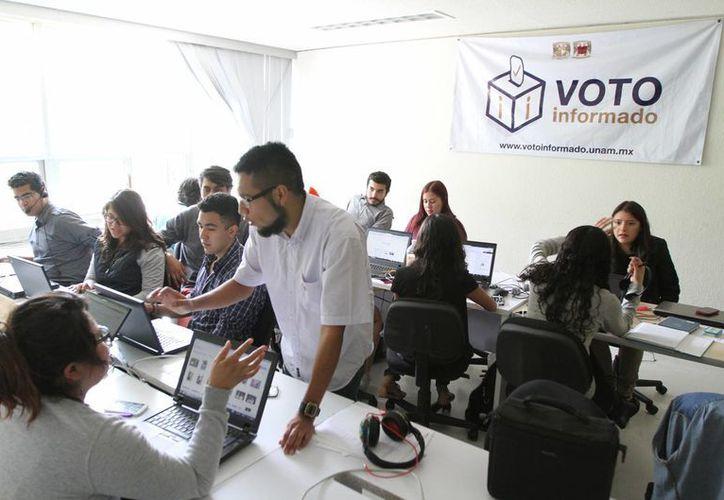 En la plataforma 'Voto Informado', los candidatos responderán a dudas de ciudadanos respecto a temas variados. Hasta ahora mil 84 aspirantes a una diputación de diferentes partidos han participado. (Notimex)