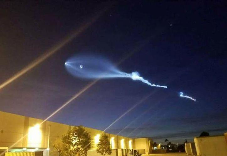 Usuarios pensaban que se trataba de un objeto volador no identificado. (Foto: Excélsior).