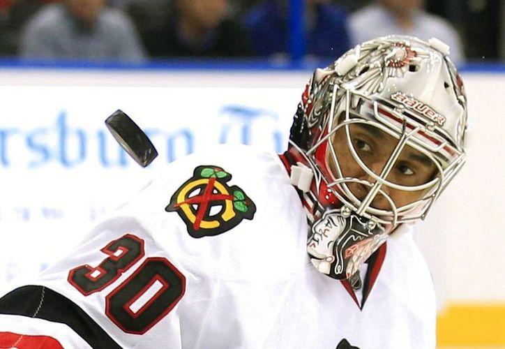 """Ray Emery llegó a la NHL con los Senators en el """"draft"""" de 2001 y tras perder dos Copas Stanley -el título de la liga- ganó el campeonato con Chicago en 2013. (Vanguardia MX)"""