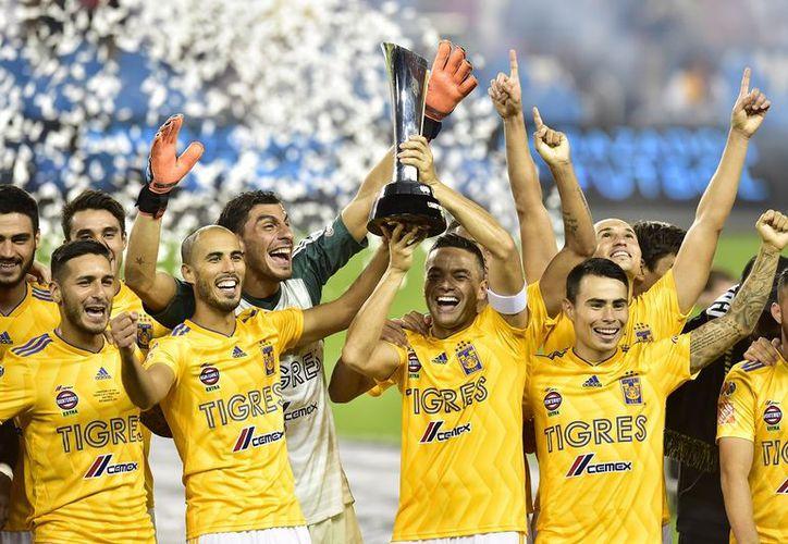 Con el triunfo, Tigres saldó cuentas pendientes ante Toronto, que en marzo lo dejó fuera en los cuartos de final de la Liga de Campeones de la Concacaf. (AP)
