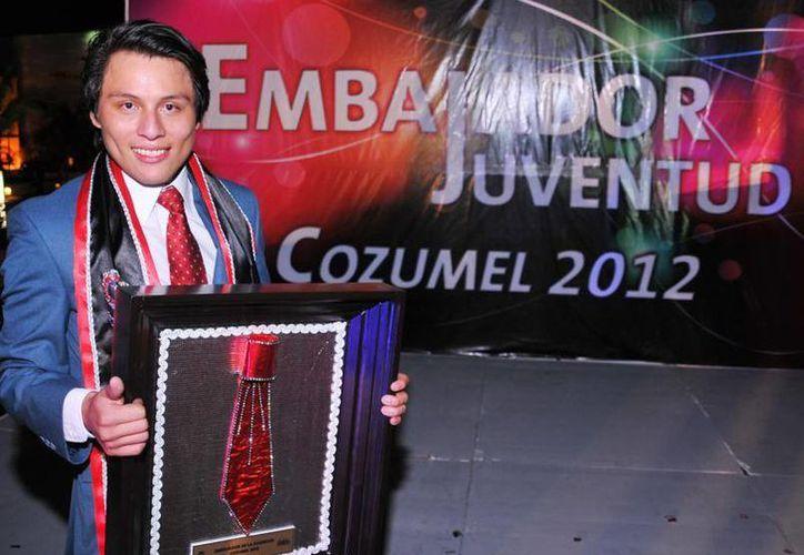 Ganador del certamen en 2012. (Cortesía/SIPSE)