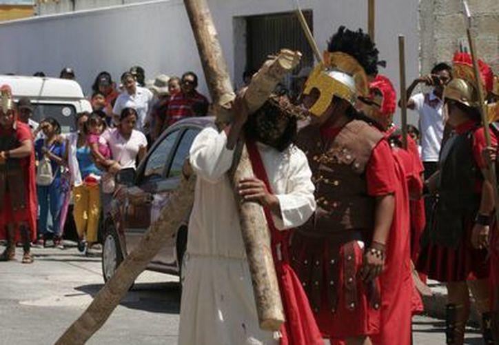 Las actividades inician el Jueves Santo con el Lavatorio de Pies. (Redacción/SIPSE)