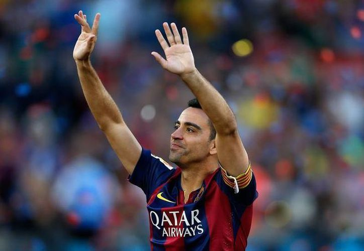 Xavi, que llegó el pasado verano al Al Sadd con un contrato de tres años, trabajó a las órdenes de 10 entrenadores durante sus 17 temporadas en el Camp Nou. (Imágenes de AP)