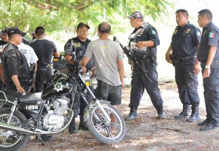 Se hizo un apmplio operativo para detener a los 'secuestradores'. (Milenio Novedades)