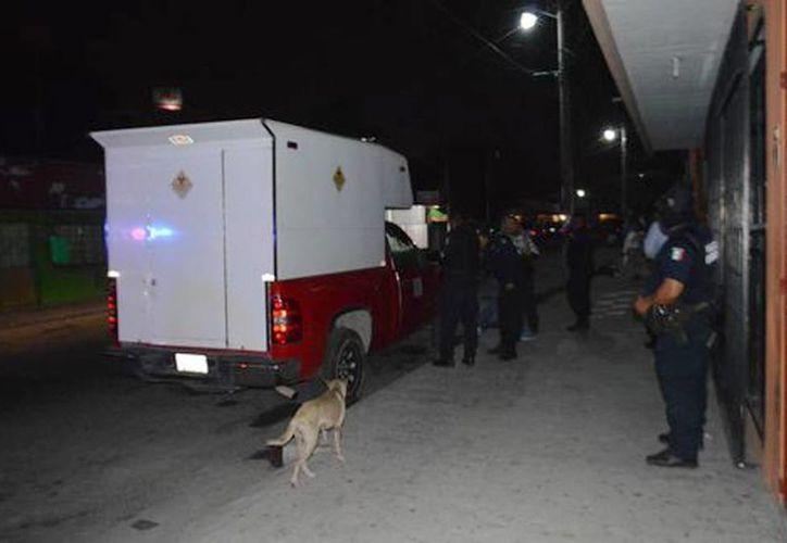 La camioneta fue localizada cerca de la terminal de autobuses de Villahermosa. (Milenio)